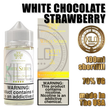 White Chocolate Strawberry - KILO e-liquids - 100ml