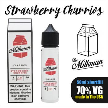 Strawberry Churrios e-liquid by The Milkman – 70% VG – 50ml