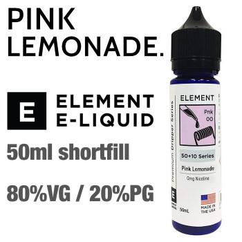 Pink Lemonade - ELEMENT e-liquid - 80% VG - 50ml