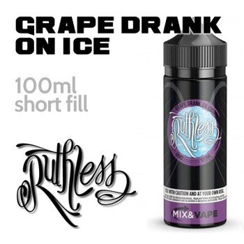 Grape Drank On Ice by Ruthless e-liquid - 60% VG - 100ml