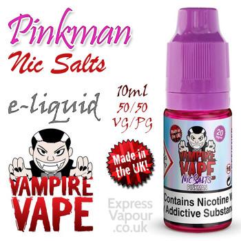 Pinkman NIC SALTS - Vampire Vape e-liquid - 10ml
