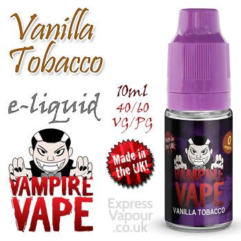 Vanilla Tobacco - Vampire Vape e-liquid - 10ml