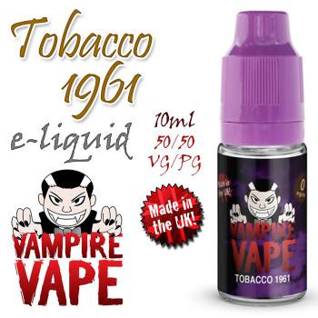 Tobacco 1961 - Vampire Vape e-liquid - 10ml