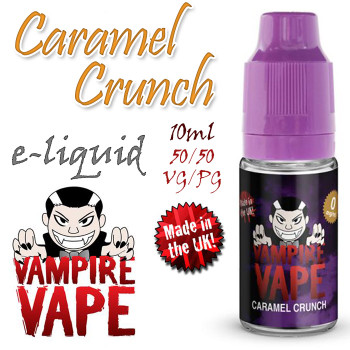 Caramel Crunch - Vampire Vape e-liquid - 10ml
