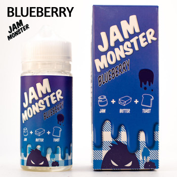 Blueberry Jam Monster e-liquid - Max VG - 100ml