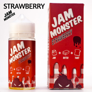 Strawberry Jam Monster e-liquid - Max VG - 100ml