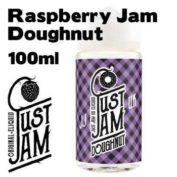 Raspberry Jam Doughnut - Just Jam e-liquid - 80% VG - 100ml