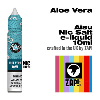Aloe Vera - Aisu NicSalt e-liquid made by Zap! 20mg - 10ml