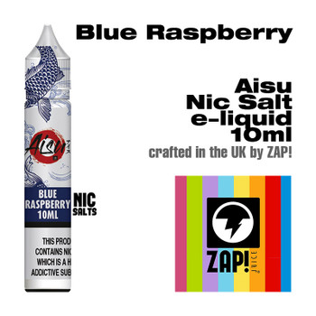 Blue Raspberry - Aisu NicSalt e-liquid made by Zap! 20mg - 10ml