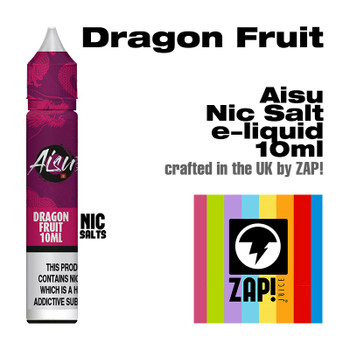 Dragon Fruit - Aisu NicSalt e-liquid made by Zap! 20mg - 10ml