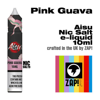 Pink Guava - Aisu NicSalt e-liquid made by Zap! 20mg - 10ml