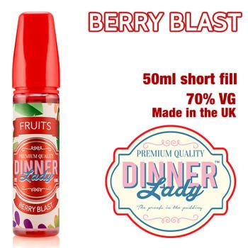 Berry Blast e-liquid by Dinner Lady – 70% VG – 50ml