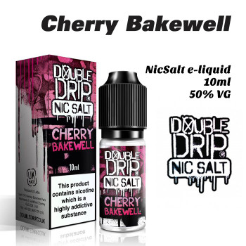 Cherry Bakewell – Double Drip NicSalt e-liquid 10ml - 20mg