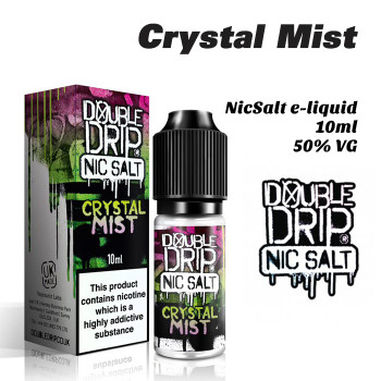 Crystal Mist - Double Drip NicSalt e-liquid 10ml - 20mg