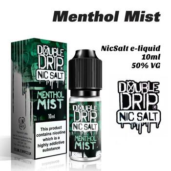 Menthol Mist - Double Drip NicSalt e-liquid 10ml - 20mg