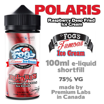 Polaris - Dr Fog's Famous Ice Cream eliquid - 75% VG - 100ml