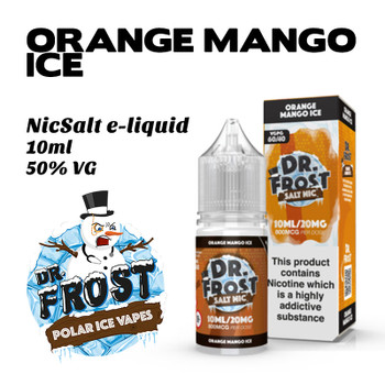 Orange Mango Ice – Dr Frost NicSalt e-liquid 10ml