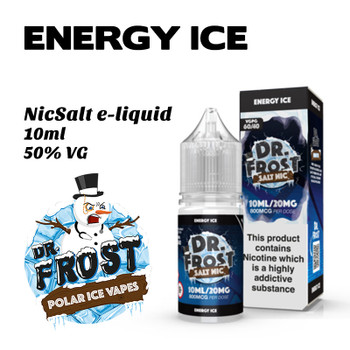 Energy Ice – Dr Frost NicSalt e-liquid 10ml