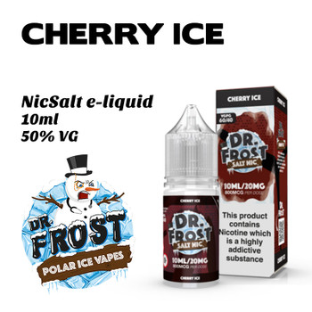 Cherry Ice – Dr Frost NicSalt e-liquid 10ml