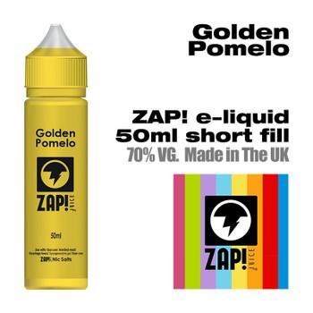 Golden Pomelo by Zap! e-liquid – 70% VG – 50ml