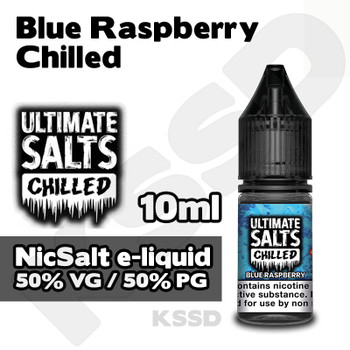 Blue Raspberry Chilled - Ultimate Salts eliquid - 10ml