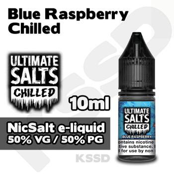 Blue Raspberry Chilled - Ultimate Salts eliquid - 10ml