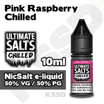 Pink Raspberry Chilled - Ultimate Salts e-liquid - 10ml