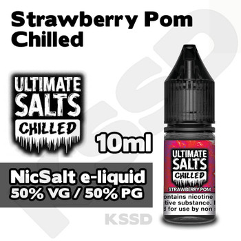 Strawberry Pom Chilled - Ultimate Salts e-liquid - 10ml