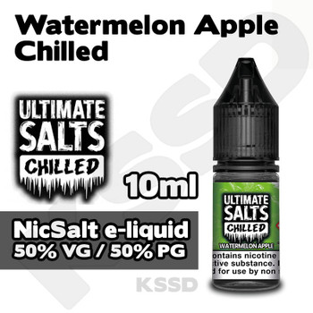 Watermelon Apple Chilled - Ultimate Salts e-liquid - 10ml