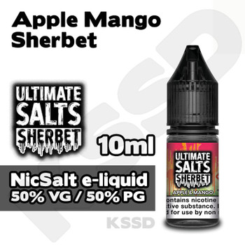 Apple Mango Sherbet - Ultimate Salts e-liquid - 10ml