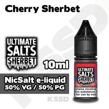 Cherry Sherbet - Ultimate Salts e-liquid - 10ml