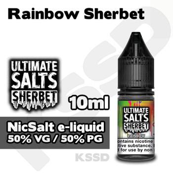 Rainbow Sherbet - Ultimate Salts e-liquid - 10ml