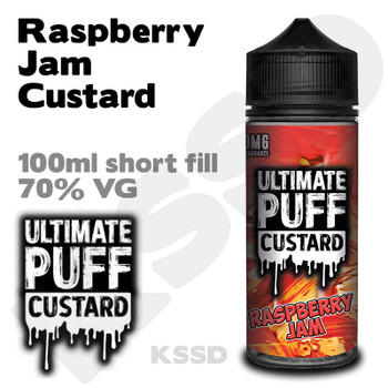 Raspberry Jam Custard - Ultimate Puff eliquid - 100ml