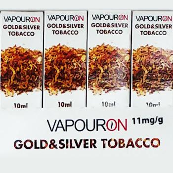 Gold & Silver Tobacco - VapourOn eLiquid - 10ml