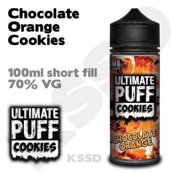 Chocolate Orange Cookies - Ultimate Puff eliquid - 100ml