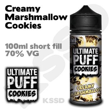 Creamy Marshmallow Cookies - Ultimate Puff eliquid - 100ml