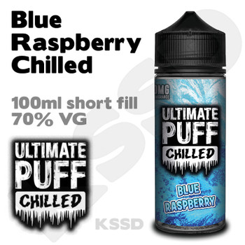 Blue Raspberry Chilled - Ultimate Puff eliquid - 100ml