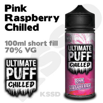 Pink Raspberry Chilled - Ultimate Puff eliquid - 100ml