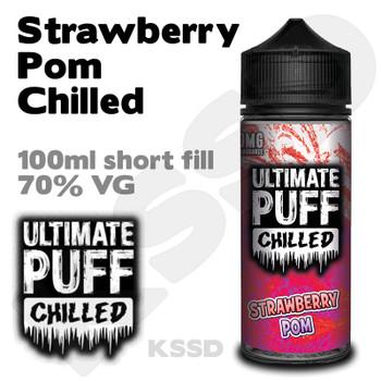 Strawberry Pom Chilled - Ultimate Puff eliquid - 100ml