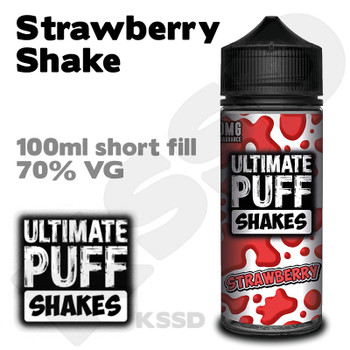 Strawberry Shake - Ultimate Puff eliquid - 100ml