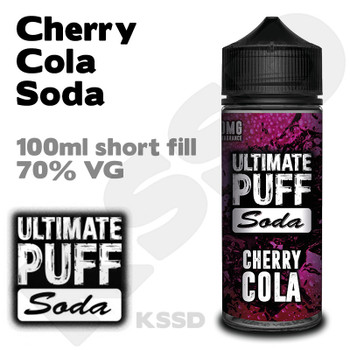 Cherry Cola Soda - Ultimate Puff eliquid - 100ml