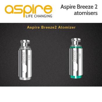 5 x Aspire Breeze Atomisers
