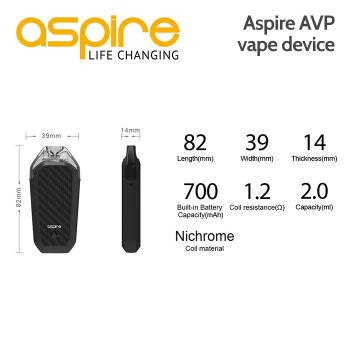 Aspire AVP Vape Device