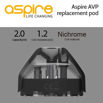 2 pack - Replacement / Additional Aspire AVP pods
