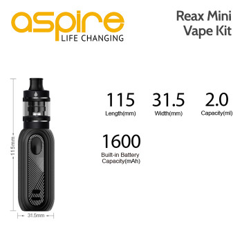 Aspire Reax Mini Vape Kit