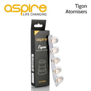 5 pack - Aspire Tigon Atomisers