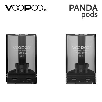 2 pack - VooPoo Panda replacement pods
