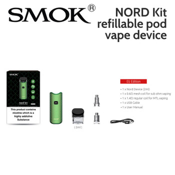 SMOK NORD Kit refillable pod vape device