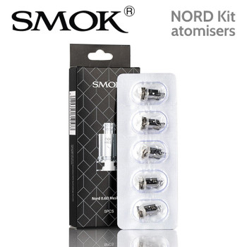 5 pack - SMOK NORD atomisers