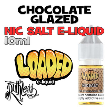 Chocolate Glazed - Loaded NicSalt e-liquid - 10ml